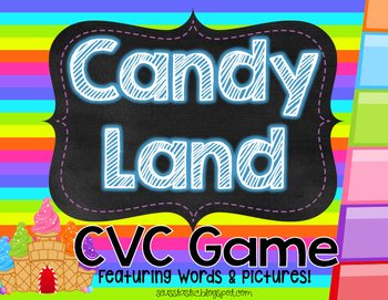Candy Land CVC Game