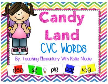 Candy Land : CVC Words