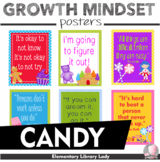 """Growth Mindset Posters Candy Land Decor - 8.5""""x11"""", 18""""x24""""-Ready for Printing"""