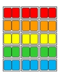 Candy Land Cards Blank
