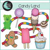 Candy Land Clip Art - Paper Moon Clip Art