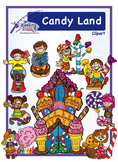Candy Land Clipart