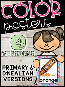Candy Land Color Posters - Candland Decor