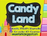 Candy Land Dibels Math Bundle