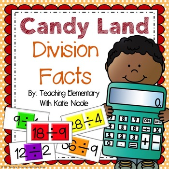 Board Game : Division Facts