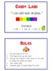 Candy Land - Fun Math Folder Game - Adding Near Doubles -