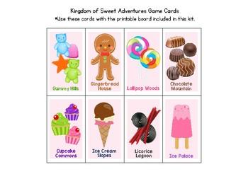 Candy Land Game - CVC Words / Short Vowel Sounds
