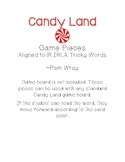 Candy Land Game Pieces (aligned to 1R IRLA Tricky Words)