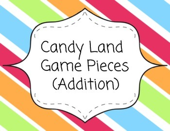 Candy Land Game Pieces - Addition Review
