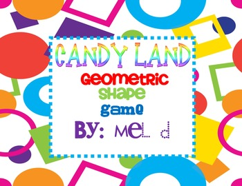 Candy Land Shape Game