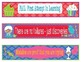 Candy Land Growth Mindset Bookmarks, Shelf Markers or Desk Name Plates-EDITABLE