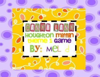 Candy Land Houghton Mifflin Theme 1-Grade 1