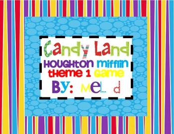 Candy Land Houghton Mifflin Theme 1-Grade 2
