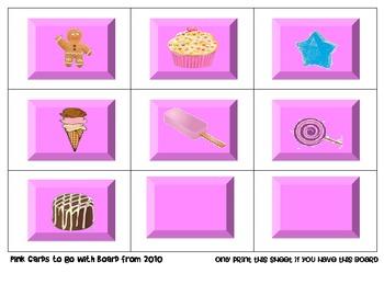 Candy Land Houghton Mifflin Theme 2-Grade 1