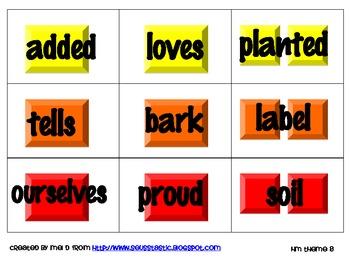 Candy Land Houghton Mifflin Theme 8-Grade 1