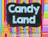 Candy Land Journey's Bundle-1st Grade