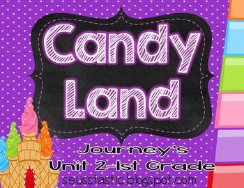 Candy Land Journey's Unit 2-1st Grade