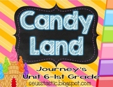 Candy Land Journey's Unit 6-1st Grade