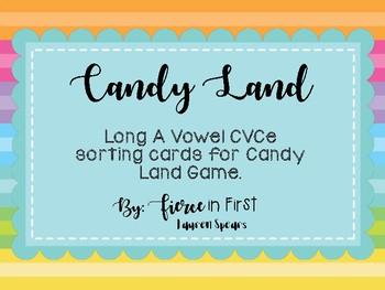 Candy Land ~ Long A CVCe