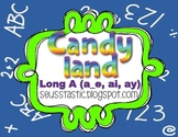 Candy Land Long A (a_e, ay, ai) Game
