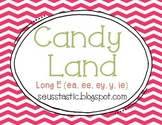 Candy Land Long E (ee, ea, ey, ie, y) Game