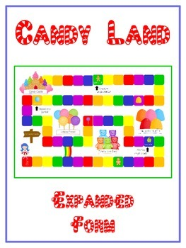 Candy Land Math Folder Game - Common Core - Expanded Form