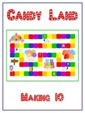 Candy Land Math Folder Game - Common Core - Making Ten