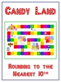 Candy Land Math Folder Game - Common Core - Rounding to Nearest 10th