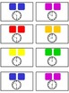 Candy Land Math Folder Game - Common Core - Telling Time H