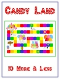 Candy Land Math Folder Game - Common Core - Ten More and Ten Less