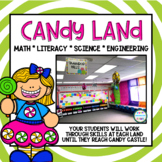 Candy Land-Math, Literacy, Science, & STEM Centers & Activities