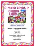 Candy Land Math Night K-5 Complete Kit