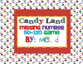 Candy Land Missing Number 50-120 Game