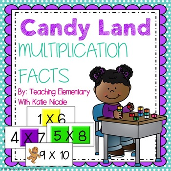 Board Game: Multiplication Facts