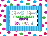 Candy Land Multiplication Game