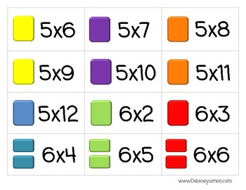 Candy Shop Multiplication Game