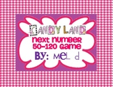 Candy Land Next Number 50-120 Game