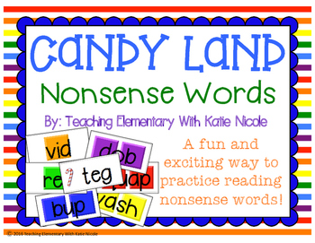 Candy Land: Nonsense Words