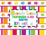 Candy Land Numbers 1-50 Game