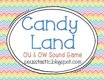 Candy Land OU/OW Game
