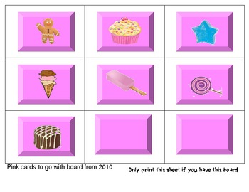 Candy Land Parts of Speech Game (Nouns, Verbs, Adjectives)