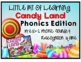 Candy Land:  Phonics Edition!
