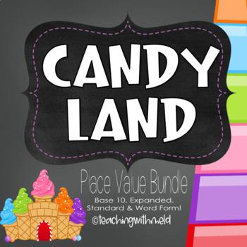 Candy Land Place Value Bundle