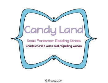 Candy Land - Scott Foresman Reading Street Unit 4