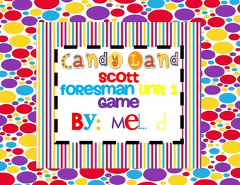 Candy Land Scott Foresman (Reading Street) Unit 1-1st Grade