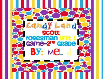 Candy Land Scott Foresman (Reading Street) Unit 1-2nd Grade