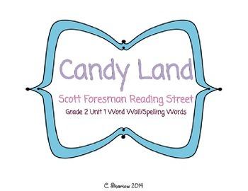 Candy Land Scott Foresman Reading Street Unit 1