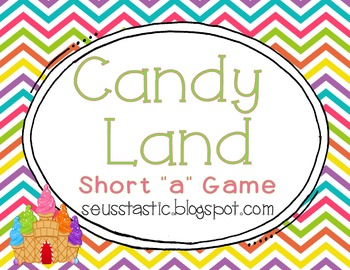 "Candy Land Short ""A"" Game"