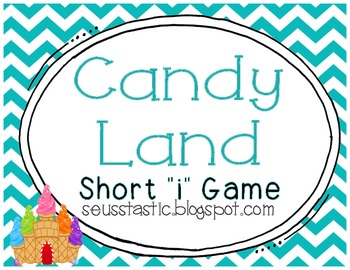 "Candy Land Short ""I"" Game"