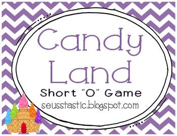 """Candy Land Short """"O"""" Game"""